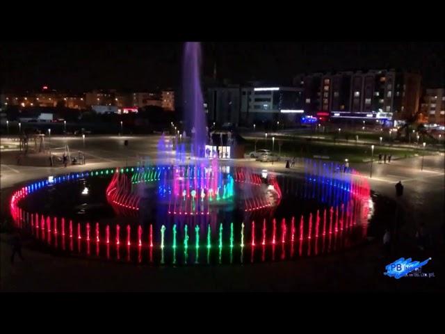 Müzikli Danslı Fıskiye Sistemi Tekirdağ Çerkezköy Kentpark - Demo