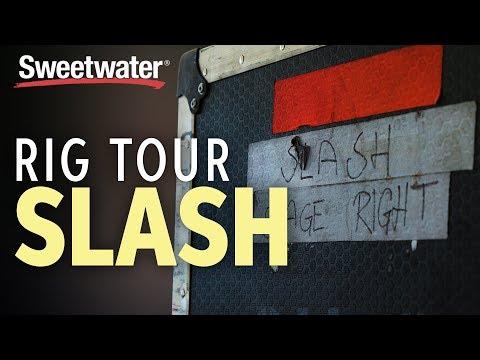 Slash's Legendary Guitar Rig | Backstage Tour
