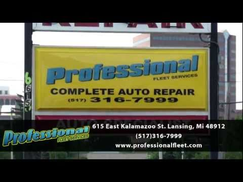 Lansing Professional Fleet Automotive Repairs Promotional Video- East Lansing Michigan