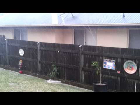 Hail Storm, Darling Heights, Toowoomba QLD 13/11/2013 @ 1610hrs