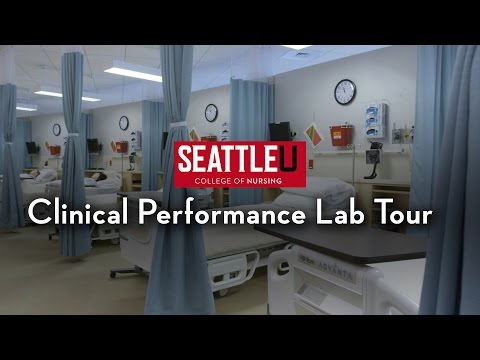 Seattle University Clinical Performance Lab Tour