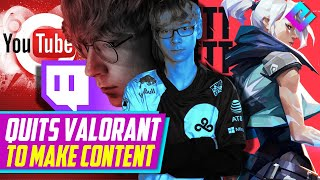 One of Valorants Bęst Pros Quits for Content (C9 TenZ)