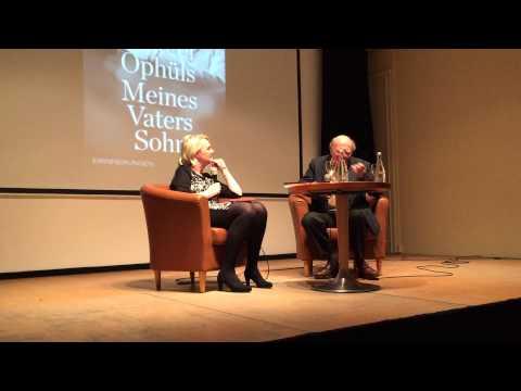 Marcel Ophuls im Gespräch mit Maria Ossowski (Teil 1)