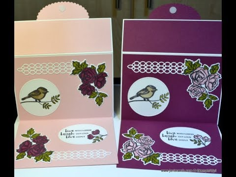 No.361 - Double Fold Card - UK Stampin' Up! Independent Demonstrator