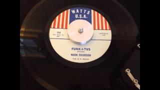 Warm Excursion -- Funk-I-Tus -- Watts USA 052 (1969)