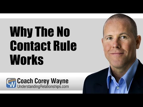 Why The No Contact Rule Works