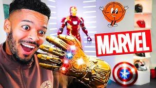 REVEALING MY FULL MARVEL COLLECTION Loki Ironman Thor Spiderman Captain America Black Panther
