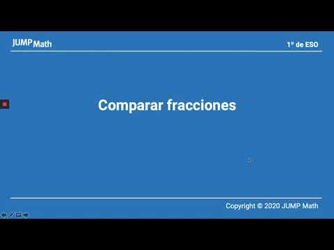 1º. Unidad 1. Comparar fracciones