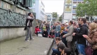 Montags Mahnwache für den Frieden - Köln 28.04.2014 03