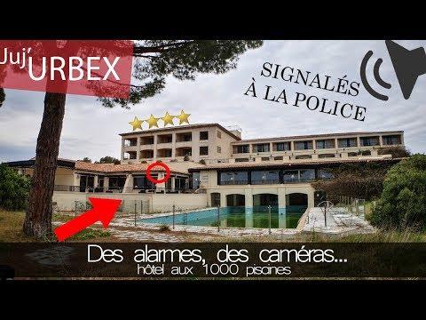 On déclenche l'alarme dans un hôtel de luxe abandonné | URBEX ft CØDY