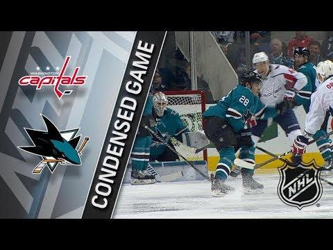 Washington Capitals vs San Jose Sharks March 10, 2018 HIGHLIGHTS HD