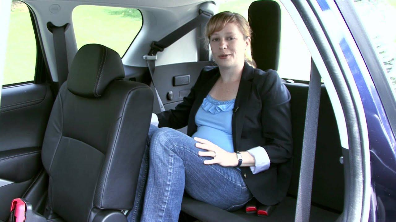 9 Seater Suv >> 2010 Mitsubishi Outlander - Seating - YouTube