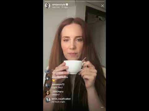 Simone Simons instagram live 17/05/18 | smoonstyle