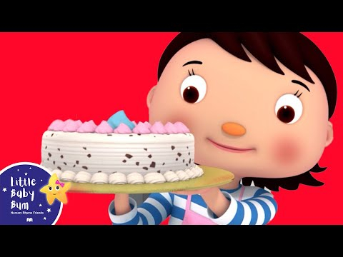 Thumbnail: 1, 2 What Shall We Do? | Nursery Rhymes | Original Song by LittleBabyBum!!