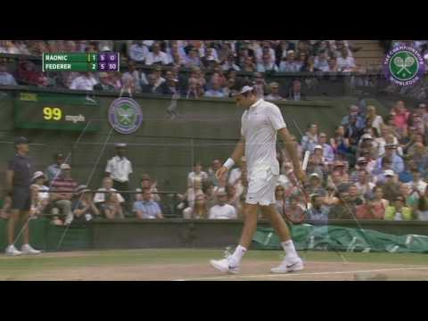 2016, Day 11 Highlights, Roger Federer vs Milos Raonic
