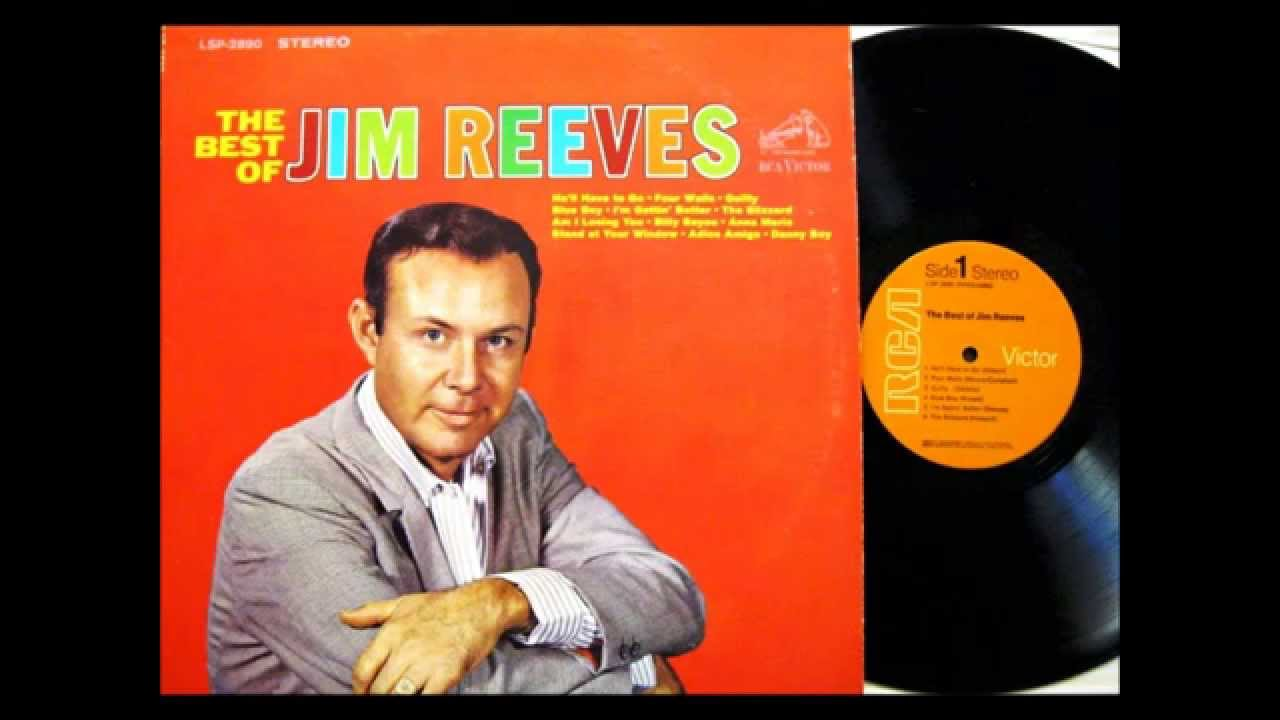Jim Reeves - He'll Have To Go - I Love You Because