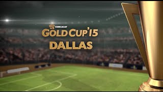 Gold Cup 2015 Cities - Dallas, TX