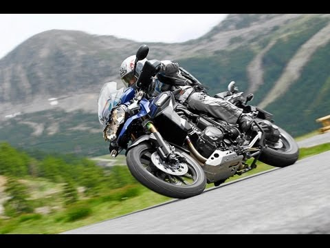 Triumph Tiger Explorer - Test in den Alpen