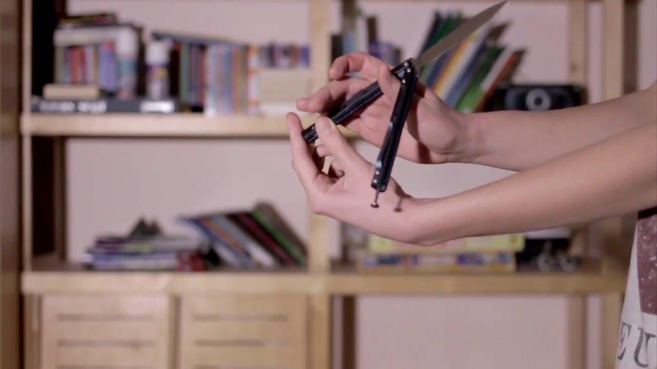 Jak opanować nóż motylkowy #13 - Zen Rollover