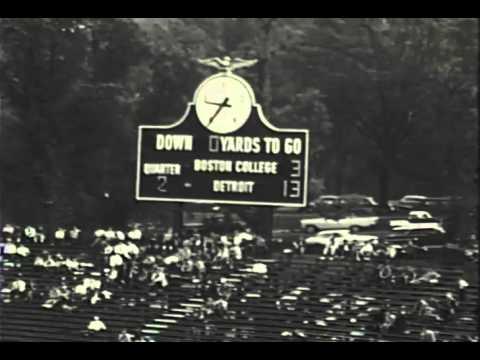 University of Detroit vs. Boston College October 15, 1960