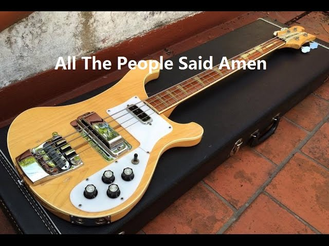 All The People Said Amen Bass Guitar Chords Chordify