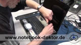 Tastatur Tausch & Einschaltleiste Demontage (Notebook / Laptop)