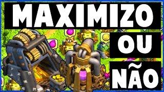 MAXIMIZAR AS MINAS E COLETORES COMPENSA ? - Clash Of Clans