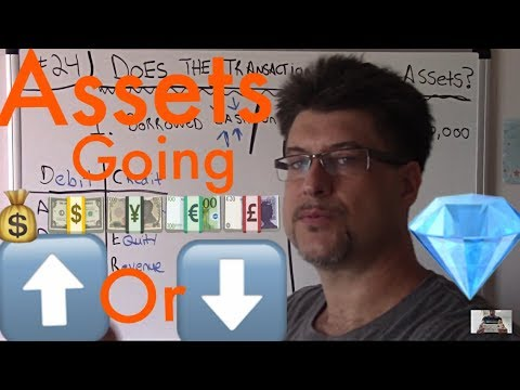 Accounting For Beginners  #24 / Does The Transaction Increase Assets / Accounting Basics