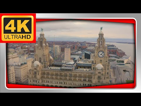 Liverpool Drone 4k Uk Drone Footage