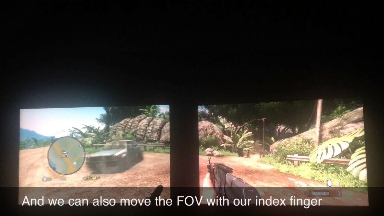 FarCry 3 5120 1600 Leap Motion Cinemizer OLED headtracker ...