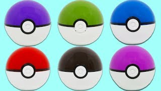 Pokemon Pokeball Surprise Toys Filled with Color Changing Mesh Balls, Paw Patrol, & More!