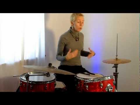 beginner drum lesson 14 funky syncopated snare youtube. Black Bedroom Furniture Sets. Home Design Ideas