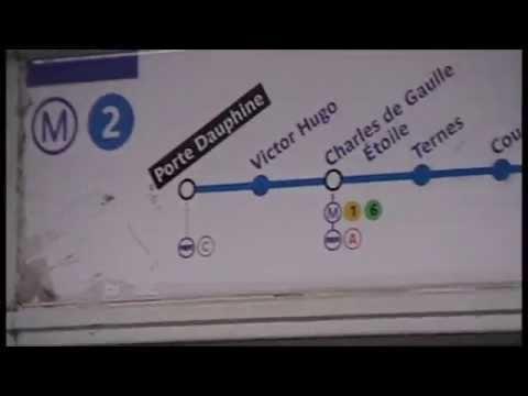 MF67 : Voyage entre les station Porte Dauphine et Charles de Gaulle Etoile sur la ligne 2 : 2010