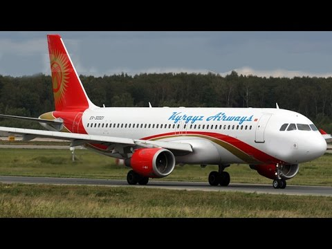 Airbus A-320 EX-31001 Kyrgyz Airways / Air Bishkek