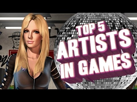 Top 5 - Music artists in video games