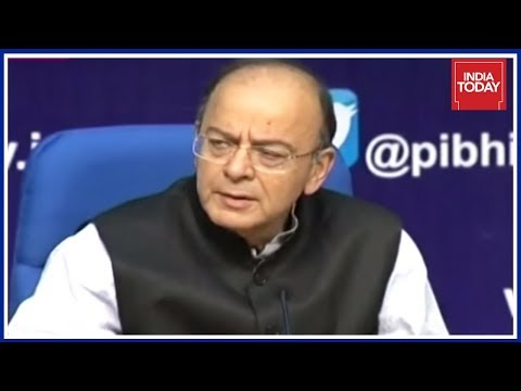Arun Jaitley Speaks To Media On State Of Economy, Says India Among Quickest Growing Economy