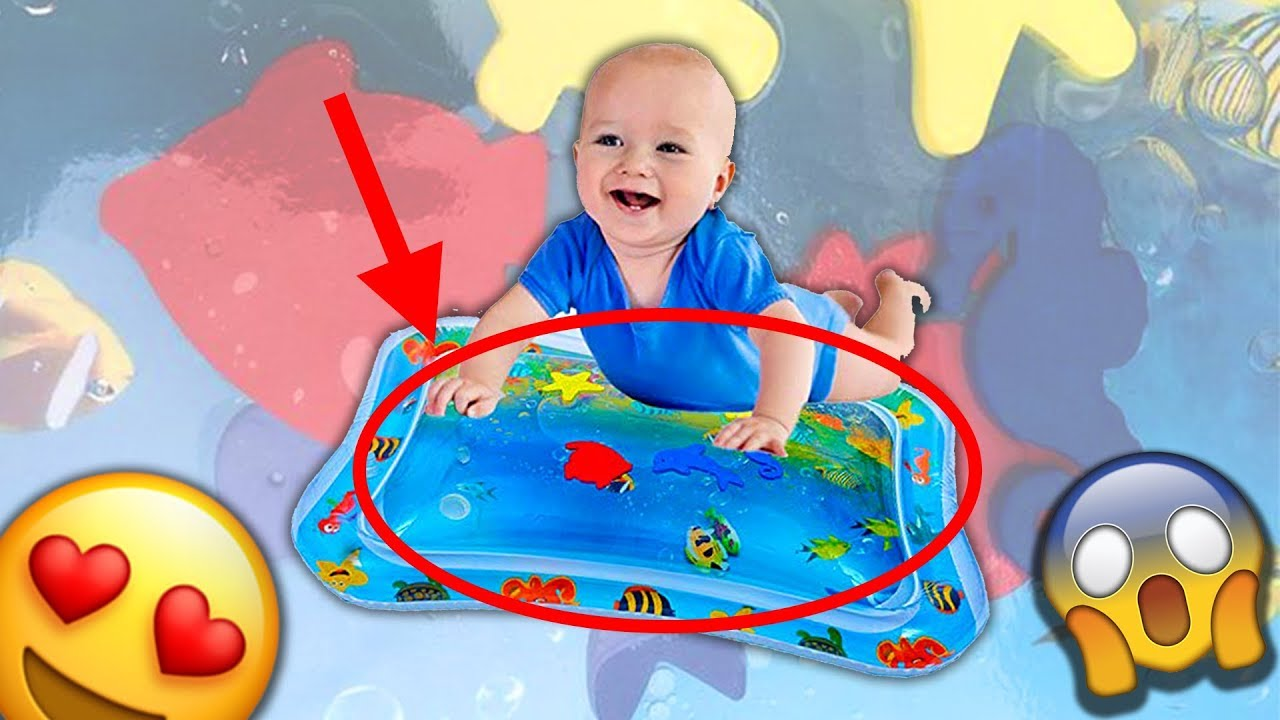 baby pad tapis jeu d eau gonflable pour bebe tapis d eveil d eau