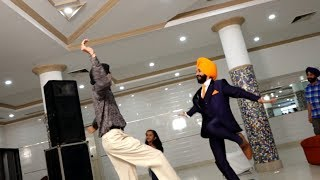 Punjabi Wedding Dance | Impromptu Bhangra Performance