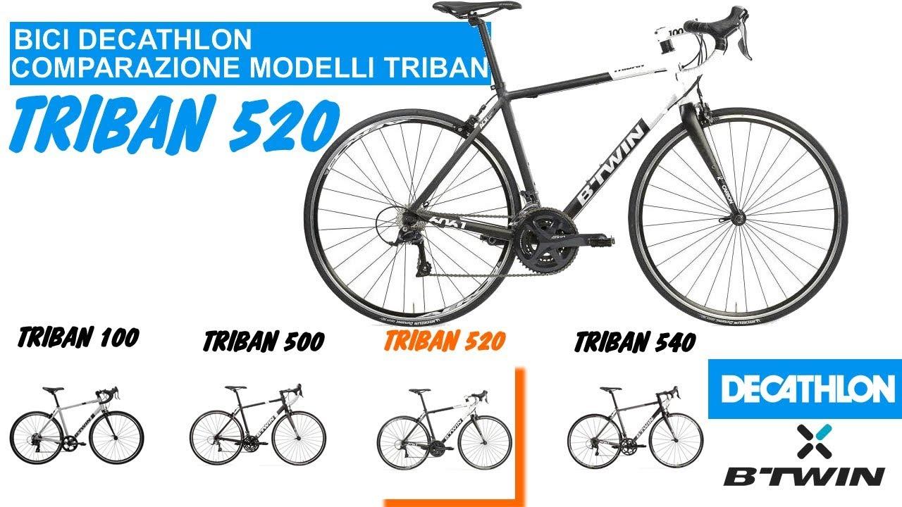 DECATHLON comparazione modelli bici corsa: Btwin Triban 520 #3