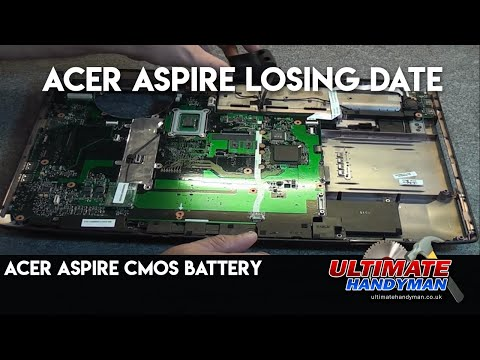 Acer Aspire CMOS battery | Acer Aspire losing date