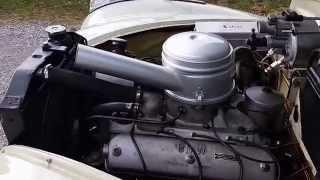 BMW 501 V8 Motorlauf  502 Leerlauf Barockengel