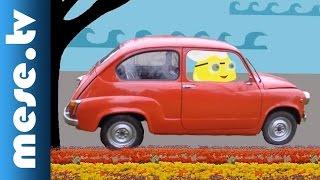 Iszkiri Zenekar: Utazik a Marci (gyerekdal, animáció gyerekeknek) | MESE TV
