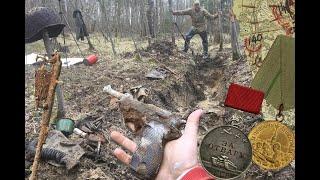 Новые поиски жутких следов войны, вперёд на раскопки с нами!!!