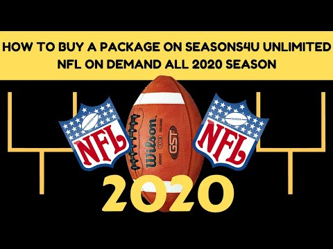 HOW TO PURCHASE A SEASONS4U NFL PACKAGE | ACCESS TO 100% OF NFL GAMES