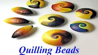How to make Quilling Bead | Quilling Paper Bead