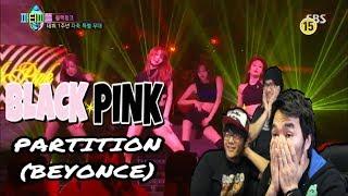 "Blackpink - ""partition"" (beyonce) | dance cover 3x reaction"