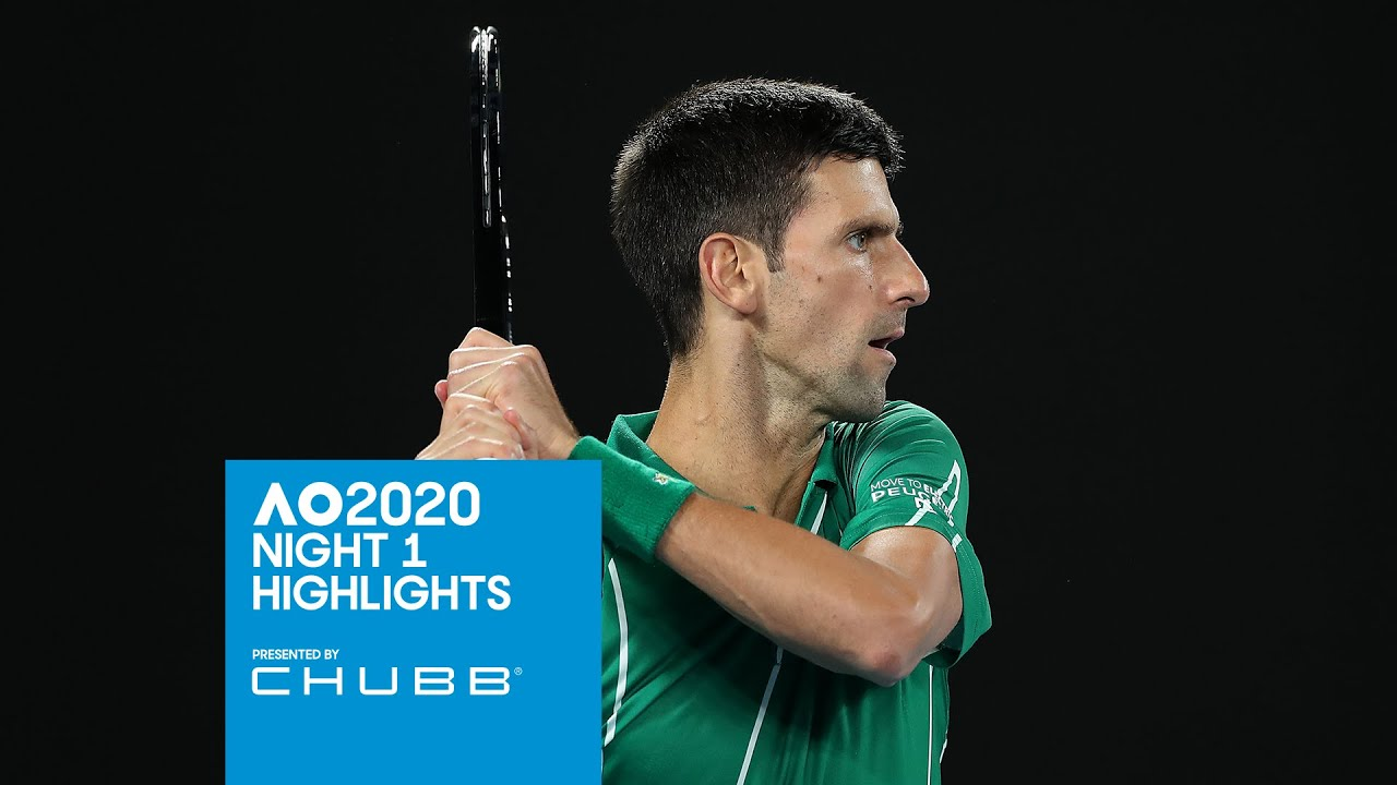 Novak And Barty Get Their Campaigns Rolling Australian Open 2020 Day 1