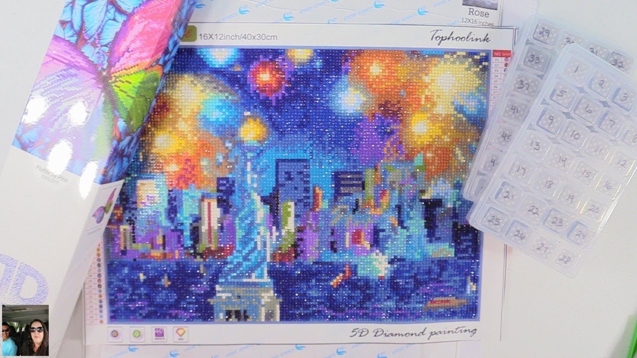 5d Diy Diamond Painting What Is It Completed Works Tips
