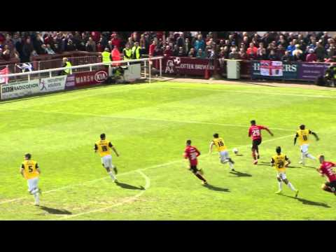 Exeter City 0-0 Northampton Town (16/4/16) Sky Bet League 2 Highlights 2015/16