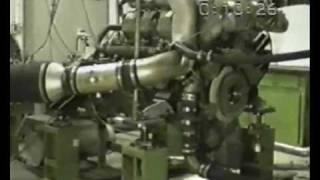 Engine Explosion dyno room